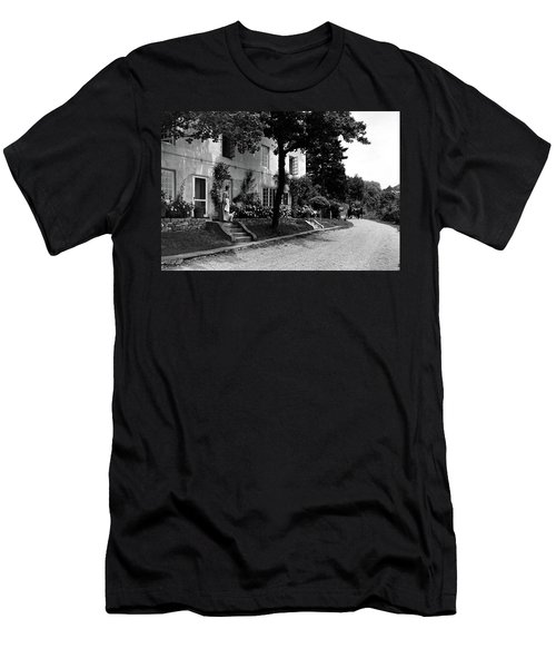 The Platt's House In New Jersey Men's T-Shirt (Athletic Fit)