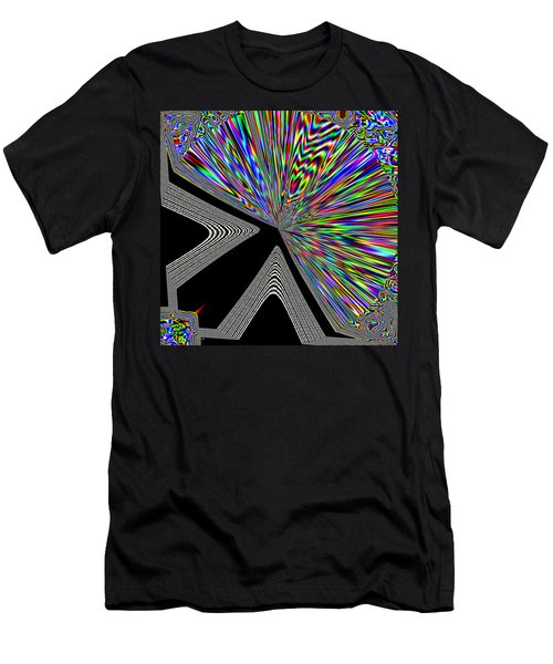 Men's T-Shirt (Athletic Fit) featuring the digital art The Point by Will Borden