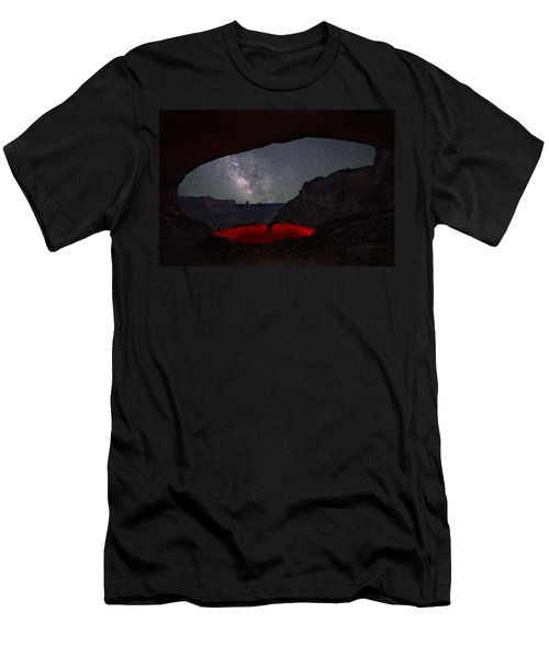 Men's T-Shirt (Athletic Fit) featuring the photograph The Portal by Dustin  LeFevre