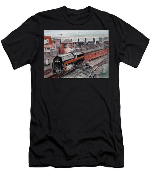 The Powhatan Arrow Roars Through The Yards Into Portmouth Men's T-Shirt (Athletic Fit)