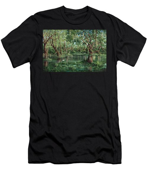 The Preacher And His Flock Men's T-Shirt (Athletic Fit)