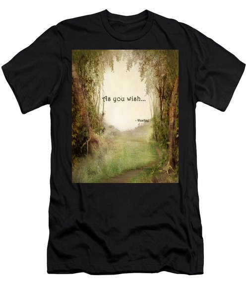 The Princess Bride - As You Wish Men's T-Shirt (Athletic Fit)
