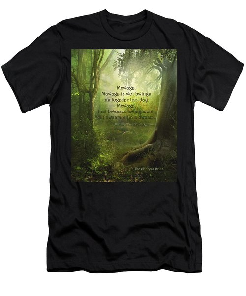 The Princess Bride - Mawage Men's T-Shirt (Athletic Fit)
