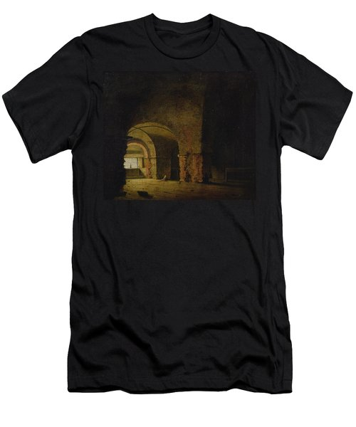 The Prisoner, C.1787-90 Oil On Canvas Men's T-Shirt (Athletic Fit)