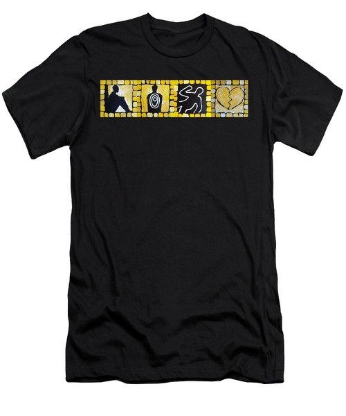 The Progression Of Despair Men's T-Shirt (Athletic Fit)