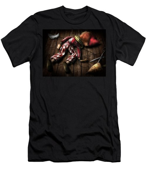The Puppet... Men's T-Shirt (Athletic Fit)