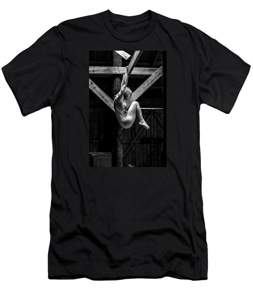 Men's T-Shirt (Slim Fit) featuring the photograph The Rafter Ornament by Mez