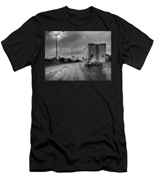 The Rain Makes Mysteries Men's T-Shirt (Athletic Fit)
