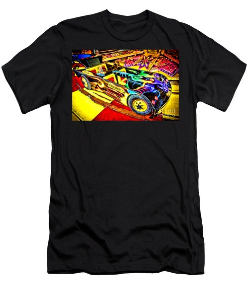 The Real Batmobile Men's T-Shirt (Athletic Fit)