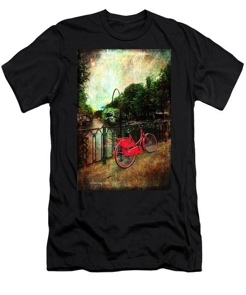 The Red Bicycle Men's T-Shirt (Athletic Fit)