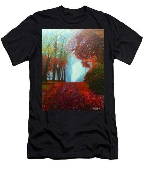 The Red Cathedral - A Journey Of Peace And Serenity Men's T-Shirt (Athletic Fit)
