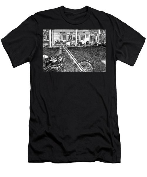 Men's T-Shirt (Slim Fit) featuring the photograph The Rest   by Lesa Fine