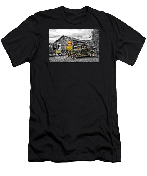 The Resting Place Men's T-Shirt (Slim Fit) by I'ina Van Lawick