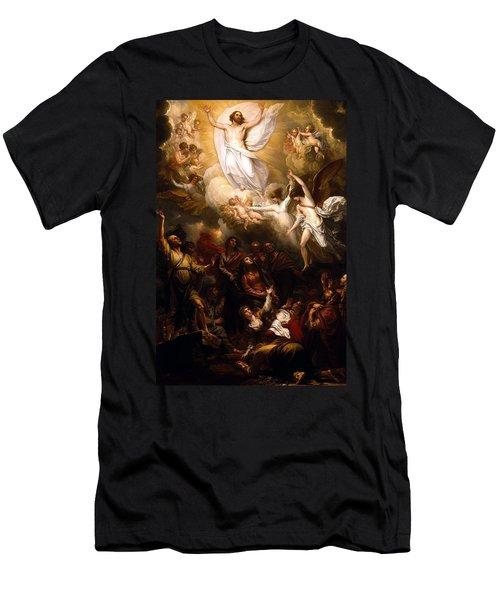 The Resurrection Men's T-Shirt (Slim Fit) by Munir Alawi