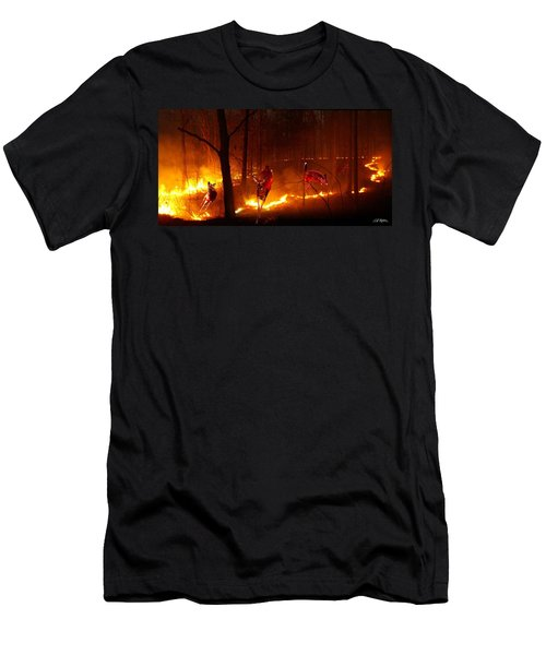 The Ring Of Fire Men's T-Shirt (Slim Fit) by Bill Stephens