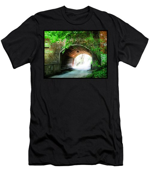 The Road To Beyond Men's T-Shirt (Slim Fit) by Shawn Dall