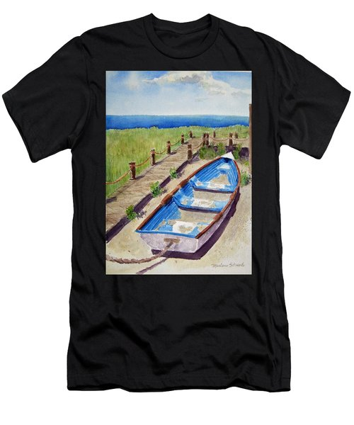 The Sandy Boat Men's T-Shirt (Athletic Fit)