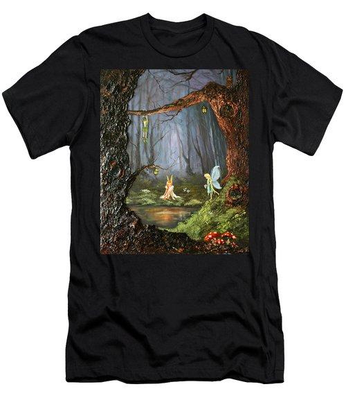 The Secret Forest Men's T-Shirt (Slim Fit) by Jean Walker