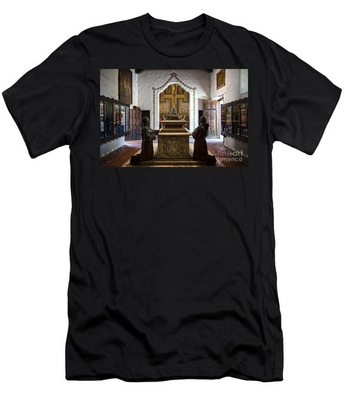 The Serra Cenotaph In Carmel Mission Men's T-Shirt (Athletic Fit)