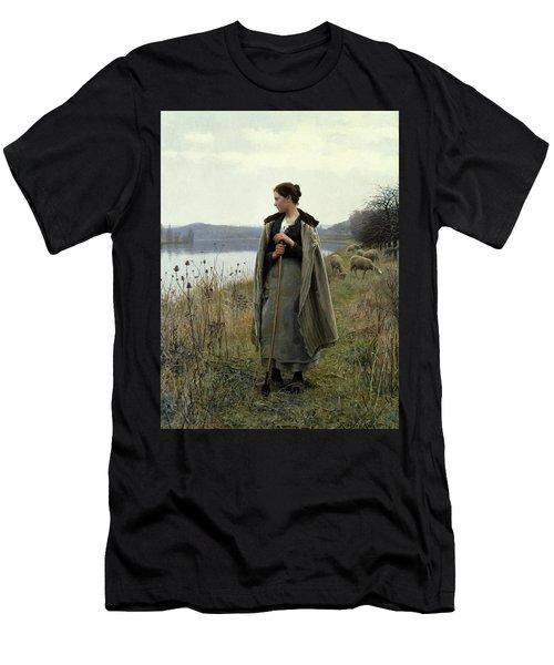 The Shepherdess Of Rolleboise Men's T-Shirt (Athletic Fit)