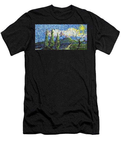 The Shores Of Dreams Men's T-Shirt (Athletic Fit)