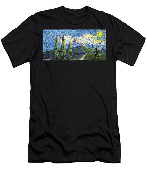 The Shores Of Dreams Men's T-Shirt (Athletic Fit)