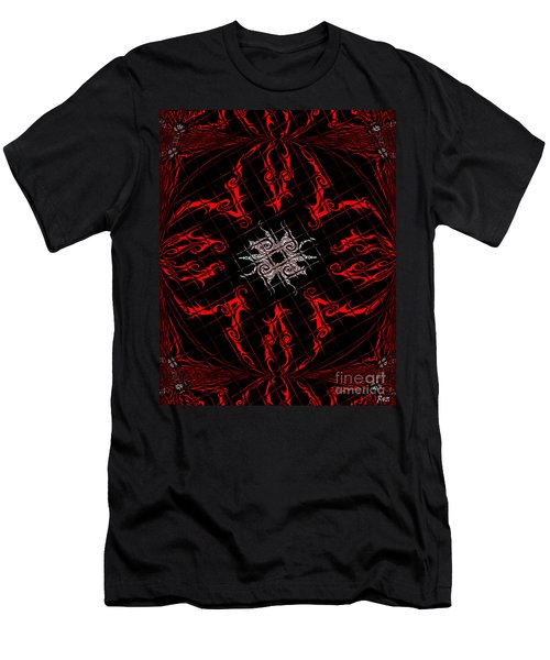 The Spider's Web  Men's T-Shirt (Slim Fit) by Roz Abellera Art