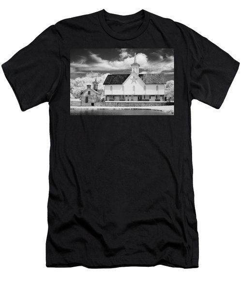 The Star Barn - Infrared Men's T-Shirt (Athletic Fit)