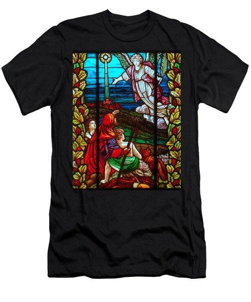 The Star Of Bethlehem Men's T-Shirt (Athletic Fit)