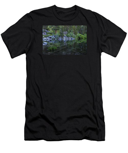 Men's T-Shirt (Slim Fit) featuring the photograph The Stillness Of Dawn  by Sean Sarsfield