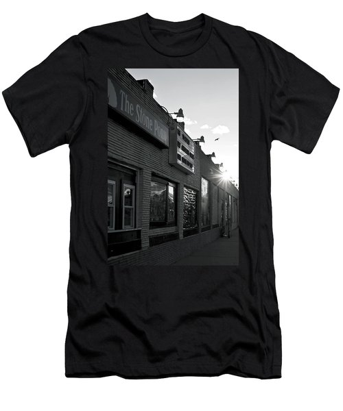 The Stone Pony Asbury Park Side View Men's T-Shirt (Athletic Fit)