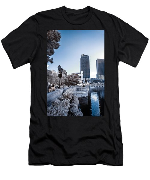 The Strip In Infrared Men's T-Shirt (Athletic Fit)