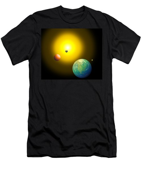 The Sun Men's T-Shirt (Slim Fit) by Cyril Maza