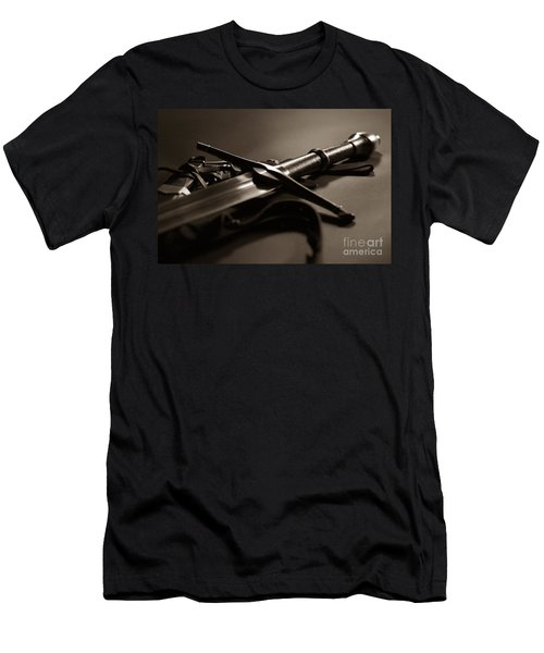 The Sword Of Aragorn 2 Men's T-Shirt (Slim Fit) by Micah May