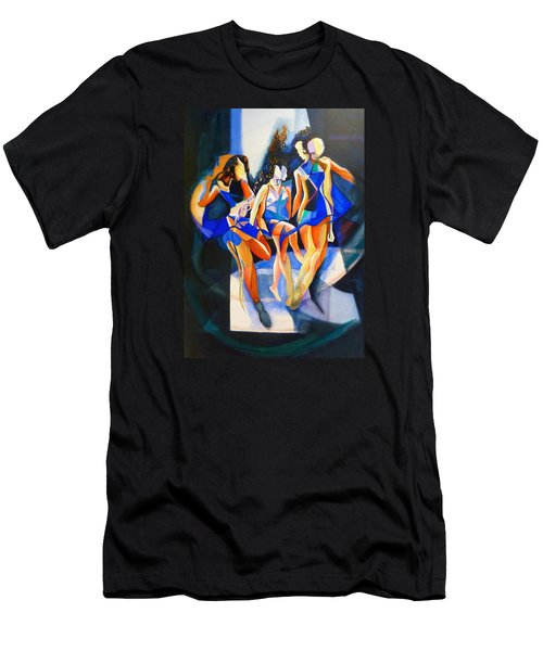 The Three Graces Men's T-Shirt (Slim Fit) by Georg Douglas