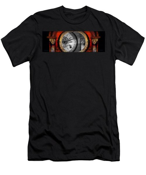 Men's T-Shirt (Athletic Fit) featuring the photograph The Time Machine by Gunter Nezhoda