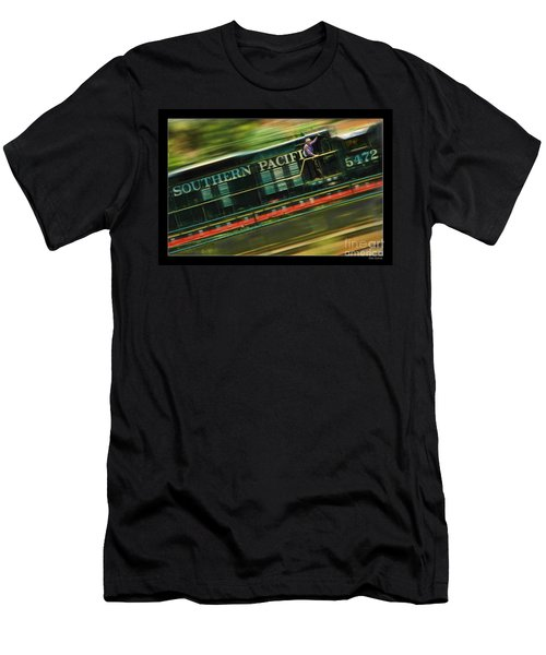The Train Ride Men's T-Shirt (Athletic Fit)