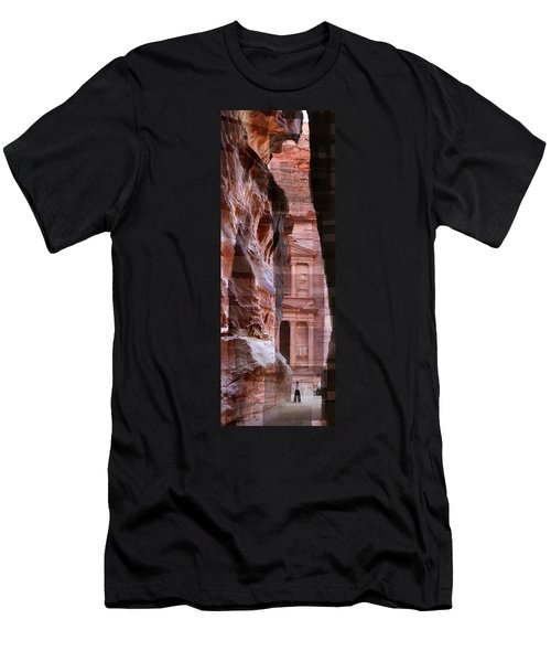 The Treasury Of Petra Jordan Men's T-Shirt (Athletic Fit)