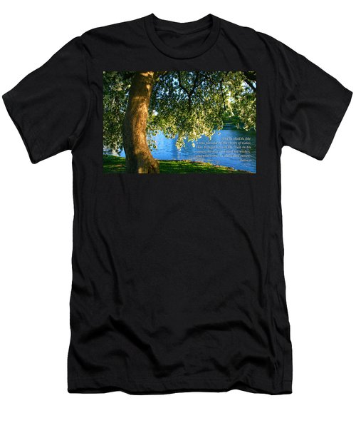 The Tree God Spoke Of... Men's T-Shirt (Athletic Fit)