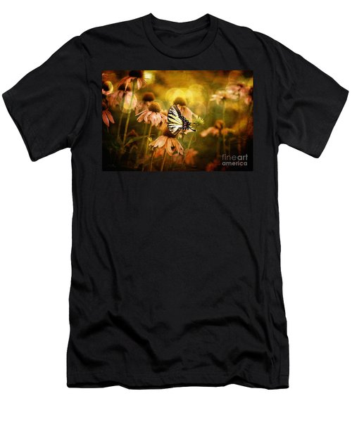 The Very Young At Heart Men's T-Shirt (Slim Fit) by Lois Bryan