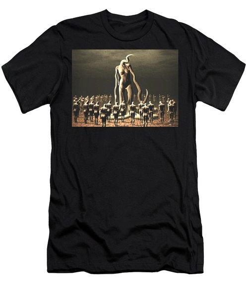 The Vile Goddess Men's T-Shirt (Athletic Fit)