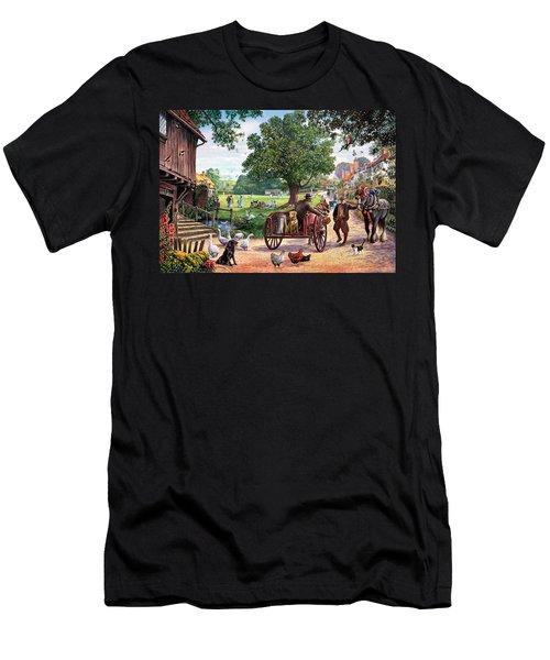 The Village Green Men's T-Shirt (Athletic Fit)