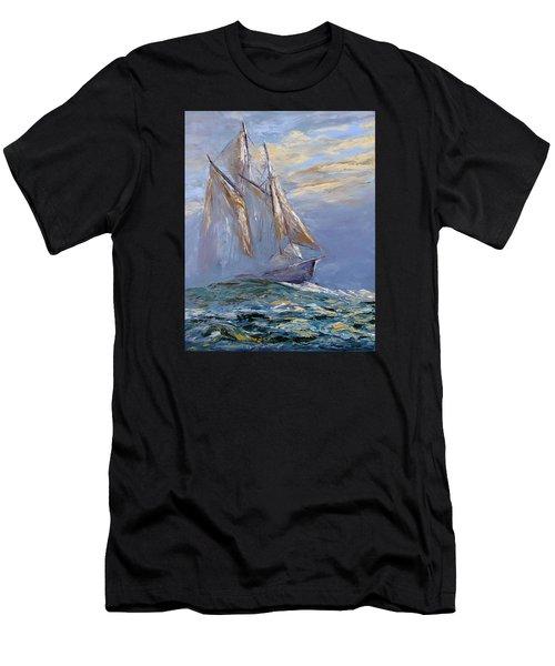 The Wanderer Men's T-Shirt (Athletic Fit)