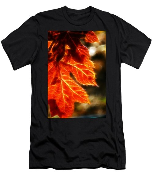 The Warmth Of Fall Men's T-Shirt (Athletic Fit)