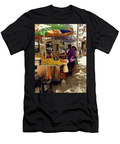 Men's T-Shirt (Slim Fit) featuring the photograph The Water Jug by Miriam Danar