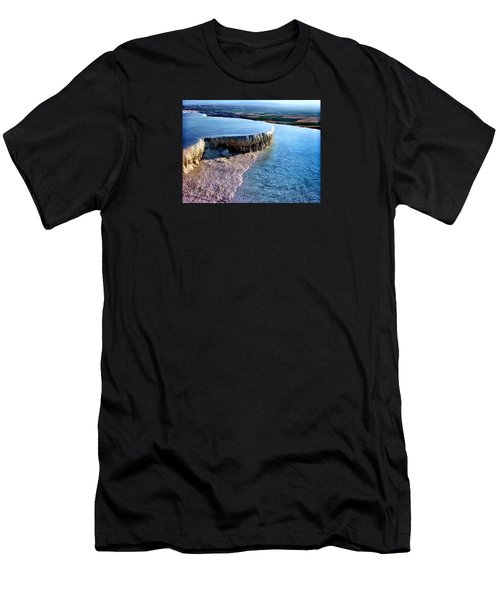 The Water With White Paint Men's T-Shirt (Athletic Fit)
