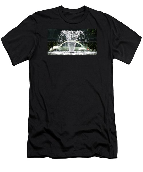 Men's T-Shirt (Slim Fit) featuring the photograph The  Waterbug by John King