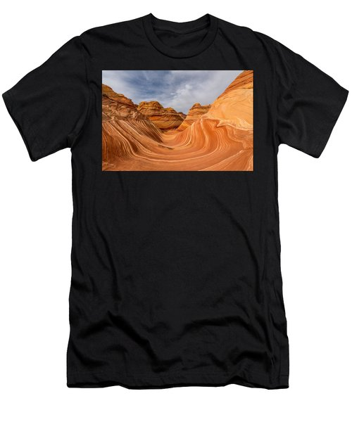 Men's T-Shirt (Athletic Fit) featuring the photograph The Wave by Dustin  LeFevre