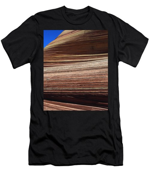 'the Wave' North Coyote Buttes 06 Men's T-Shirt (Slim Fit) by Jeff Brunton