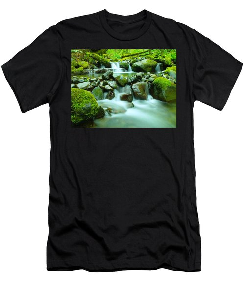 The Way Of Healing Water  Men's T-Shirt (Athletic Fit)